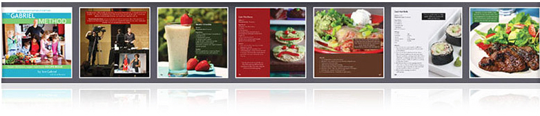 Gabriel Method Recipe Book/ Metodo Gabriel Libro de Recetas